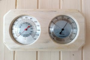 Beauty Luxury thermometer/hygrometer BL-TERMU Finnish saunas