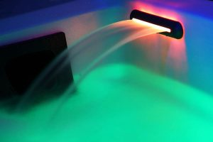 Hot tub RGB LED emotional waterfall BL-AHT008U Beauty Luxury