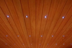 """Starry sky"" chromotherapy effect for IR saunas Beauty Luxury"