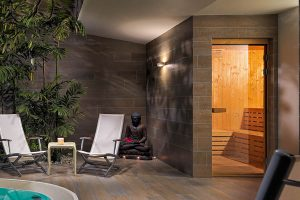 Beauty Luxury taylor made Finnish sauna