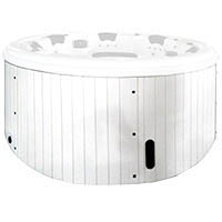 Hot tub spa H05 white PVC