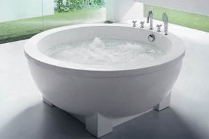 Beauty Luxury whirlpool bath BL-535U